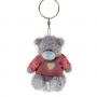 Брелок G01W3362 Мишка Тедди Me to You 7,5 см в свитере