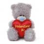 Мишка G01W3513 Тедди Me to You 18 см с сердцем